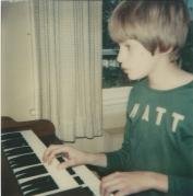 Matt at organ